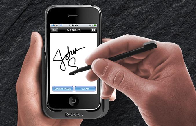 VeriPhone Signature capture