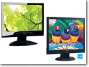 ViewSonic announced two eco-friendly LCD monitors