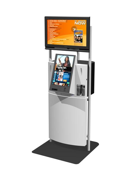 XONA-MK3-DVD+Digital kiosk
