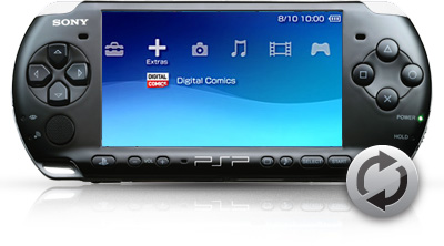how to find out model of psp