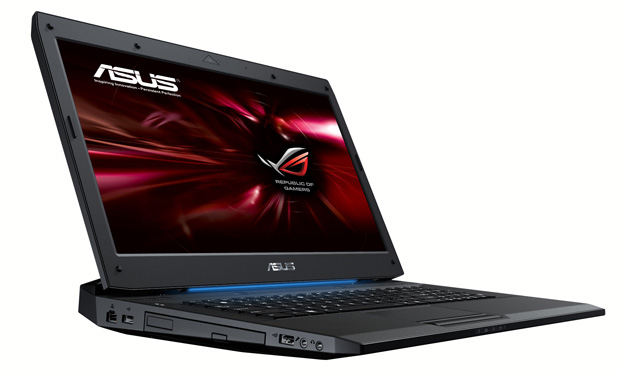 Asus unveils asus rog g73jh gamers notebook powered by intel core i7