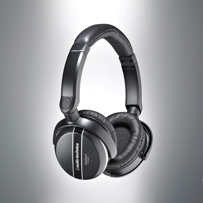 Audio-Technica ATH-ANC27 QuietPoint Active Noise cancelling Headphones