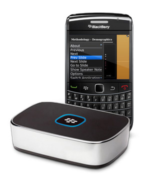 RIM Introduces BlackBerry Presenter