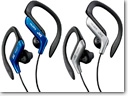 JVC ear clip headphones for sport and fitnes enthusiasts