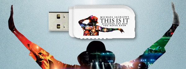 Kingston DataTraveler  USB Flash drive - Michael Jackson's THIS IS IT