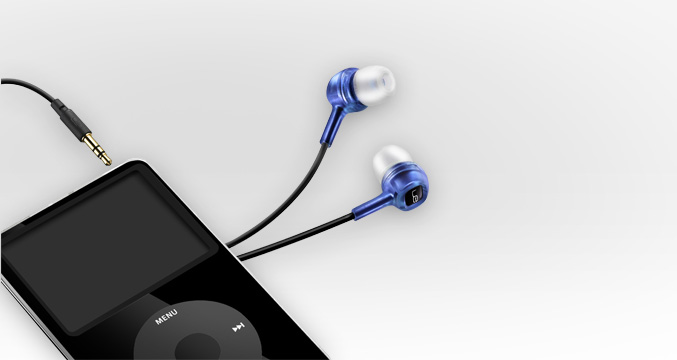 Logitech Loud Enough Noise Isolating Earphones