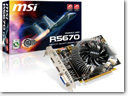 MSI launches R5670 graphics card