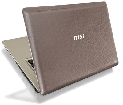 MSI X-Slim X420 notebook