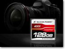 Silicon Power Launches 128GB 400X Compact Flash card