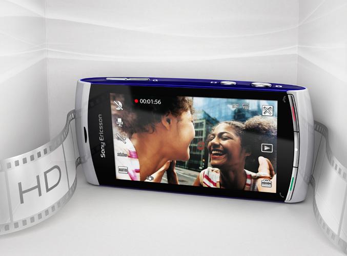 sony ericsson vivaz hd. With Sony Ericsson Vivaz™