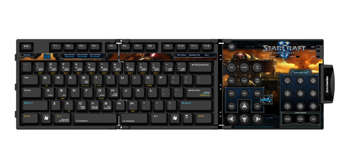 SteelSeries Zboard Limited Edition Keyset StarCraft II