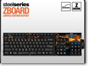 SteelSeries Intros StarCraft II Limited Edition ZBoard Keyset