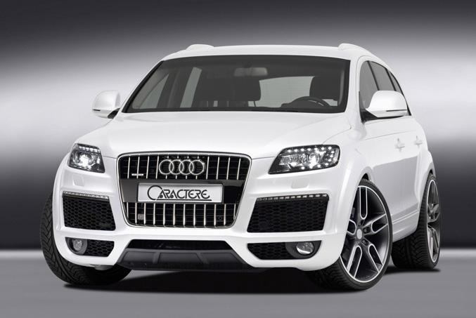 Caractere Audi Q7- facelift