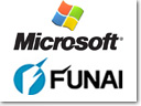 Microsoft and Funai Electric signed Cross-Licensing Agreement