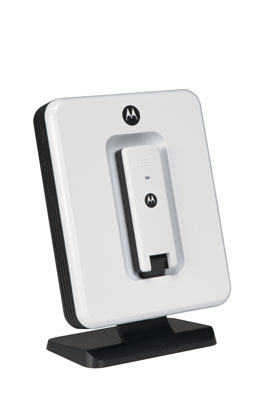 Motorola unveils Docking Station for WiMAX USBw 200 dongle