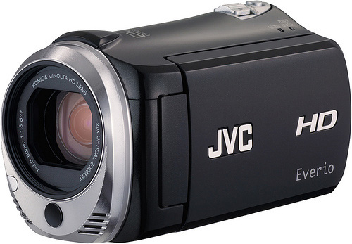 JVC Everio GZ-HM340 HD camcorder