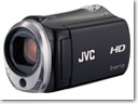 JVC Everio GZ-HM340 HD camcorder with 16GB of internal flash memory
