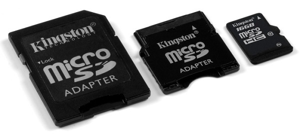 Kingston 16GB microSDHC Class10