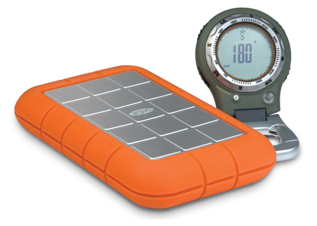 LaCie Rugged eSATA external hard drive