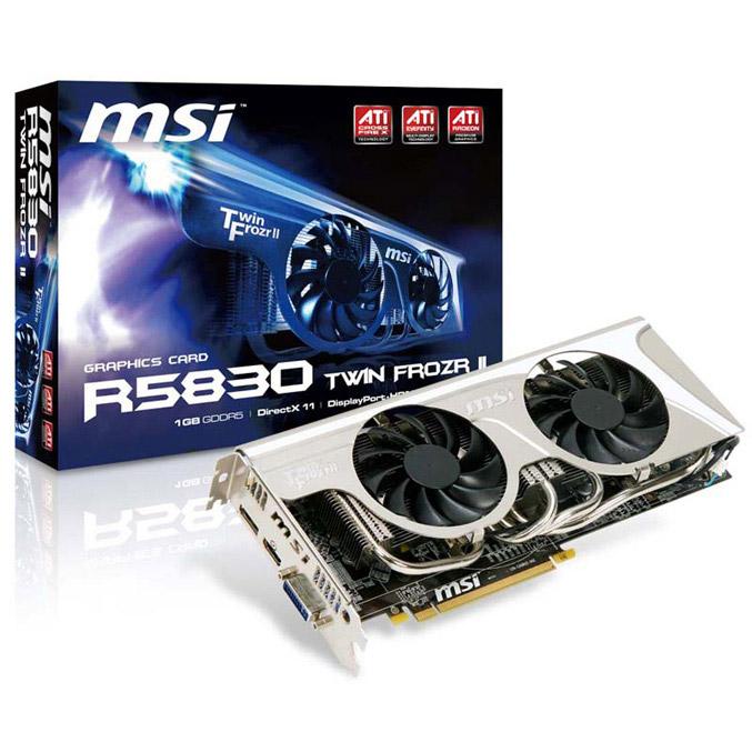 MSI R5830 Twin Frozr II