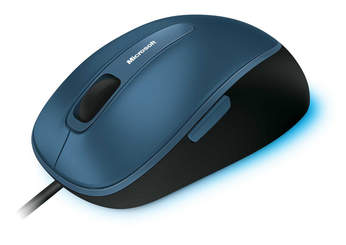 Microsoft Comfort Mouse 4500 Sea-Blue