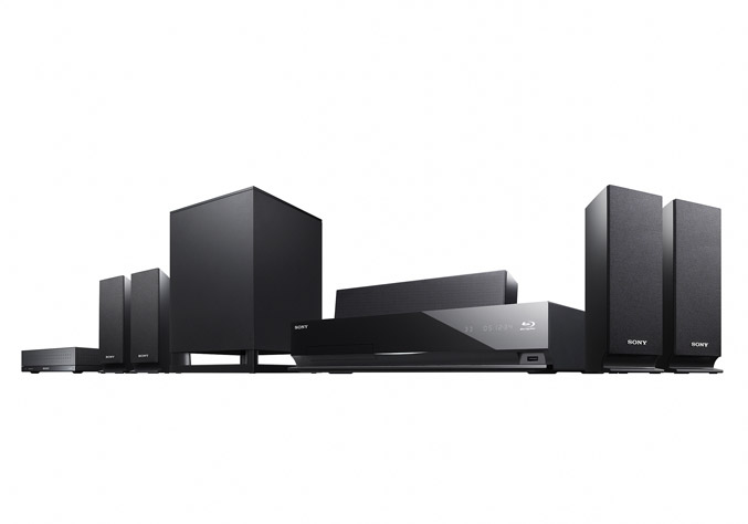 Sony BDV E770W Blu-ray
