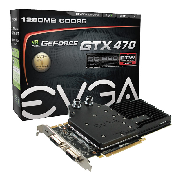 GeForce GTX 470 Hydro Copper FTW