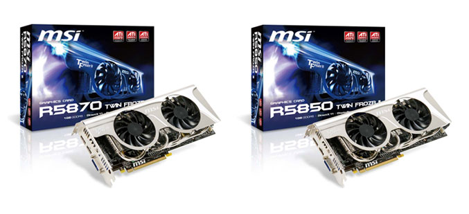 MSI R5870/R5850 Twin Frozr II Graphics Card