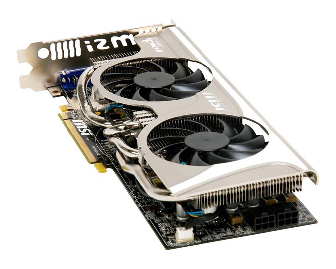 MSI R5870 Twin Frozr II Graphics Card