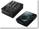 Pioneer's new CDJ-350 digital media player and DJM-350 2-channel mixer