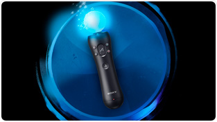 PlayStation Move motion controller for PlayStation 3, available fall 2010