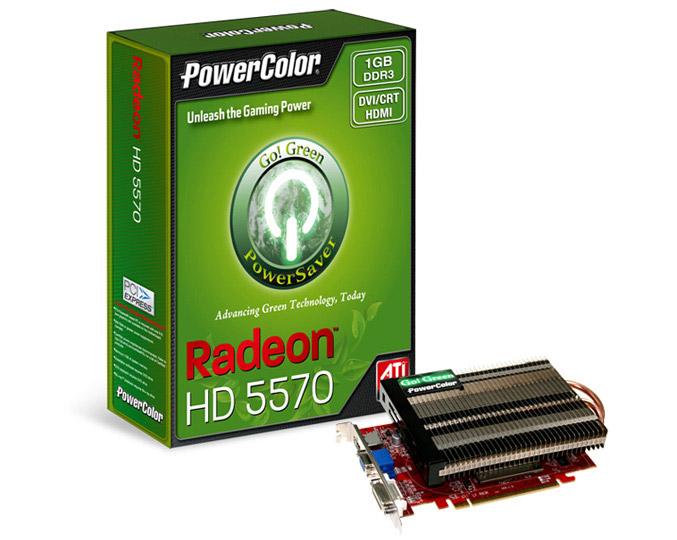 PowerColor Go! Green HD5570 1GB DDR3