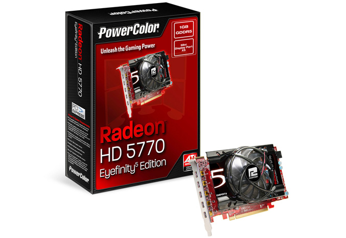 PowerColor HD5770 Eyefinity 5