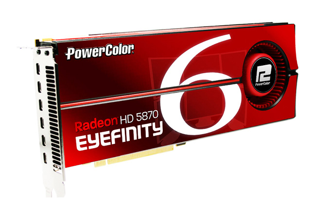 PowerColor HD5870 2GB GDDD5 Eyefinity 6 Edition