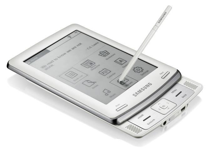 Samsung E6 eReader