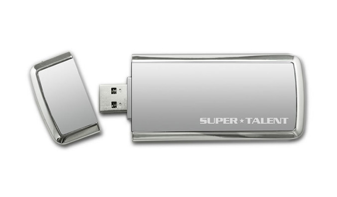 Super Talent SuperCrypt USB 3.0 drive