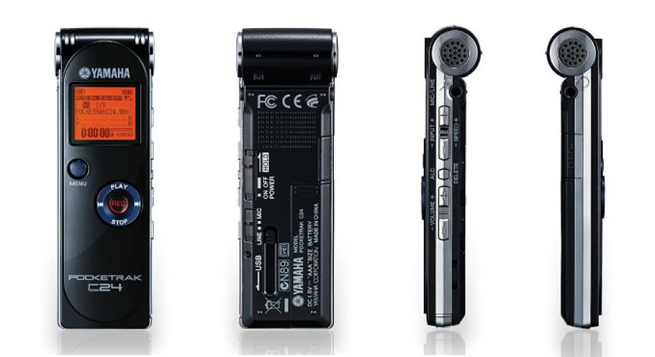 Yamaha Pocketrak digital recorders