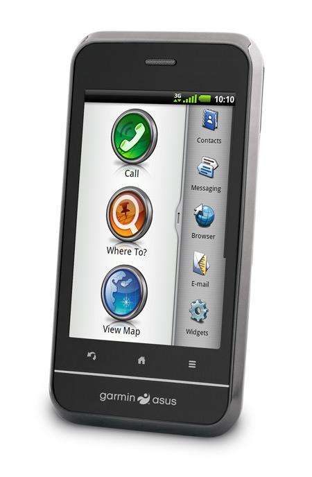 Garmin-Asus A10 smartphone