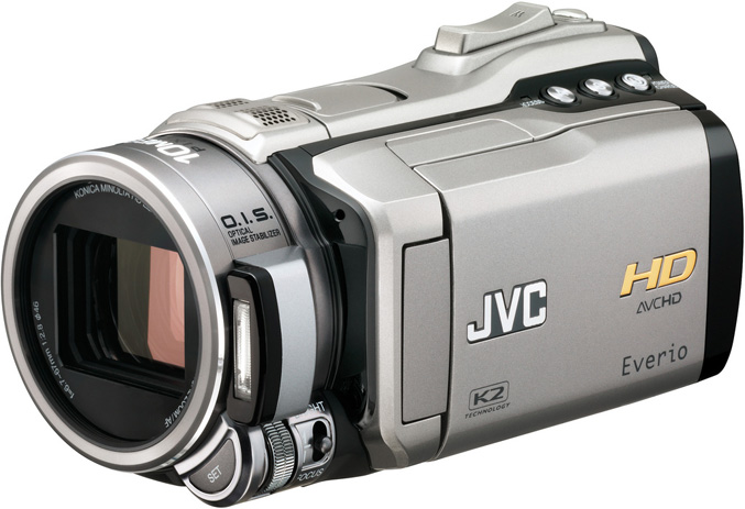 JVC GZ-HM1S HD Camera