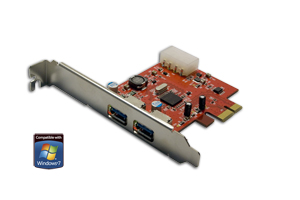 SuperSpeed USB 3.0 PCI-E adapter