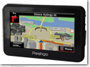 Prestigio GeoVision 4120BT/ 5120BT GPS devices with 3D navigation, Bluetooth and FM transmitter