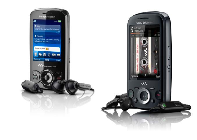 Sony Ericsson Spiro and Zylo Walkman Phones