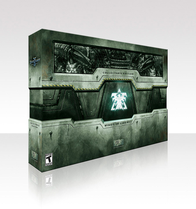 StarCraft-II: Wings of Liberty Collector's Edition