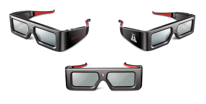 ViewSonic PGD-150 3D glasses