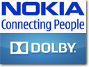 Dolby and Nokia incorporate Dolby Digital Plus 5.1 surround sound technology in handsets