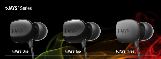 t-Jays Series in-ear earphone