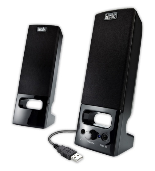 Hercules XPS 2.0 35 USB portable speakers