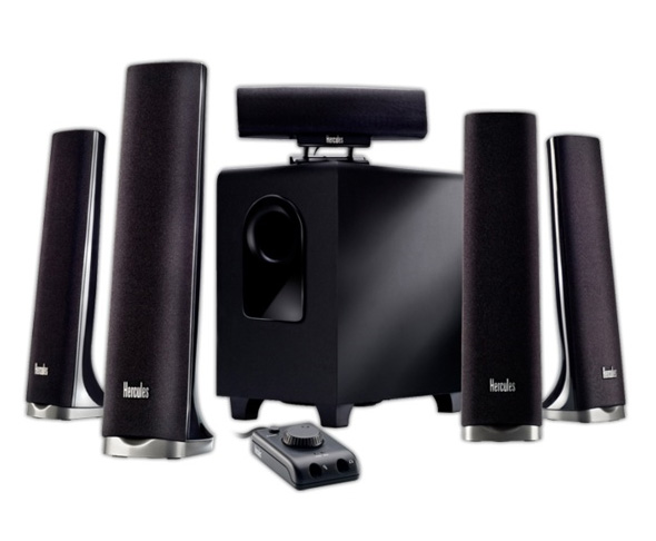 Hercules XPS 2.0 35 USB and XPS 5.1 70 Slim Speakers systems