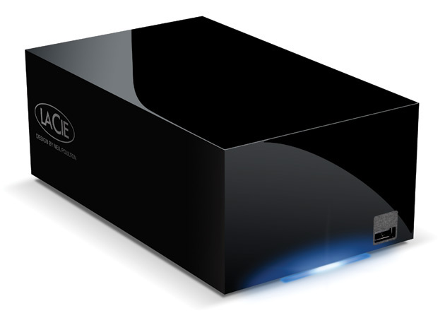 LaCie Network Space MAX media server