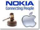Nokia Puts Apple Into Court